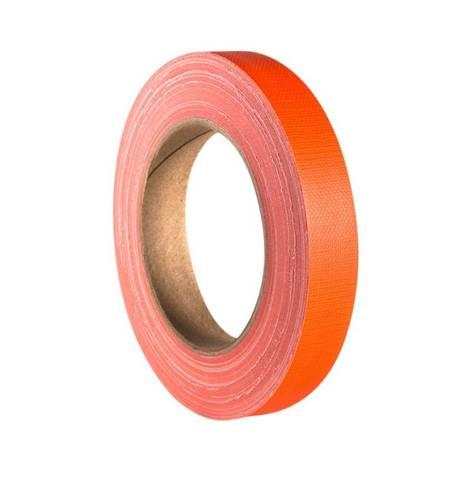 Bilde av Gaffa / Gaffer Tapes Neon Orange 19mm x 25m