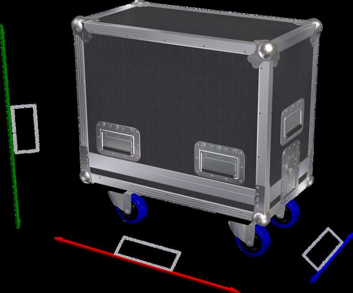 Kasse for 2 stk Turbosound IQ8